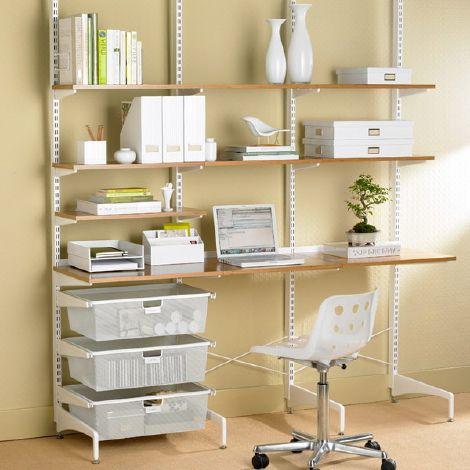 bureau bien organisé pour le home-office