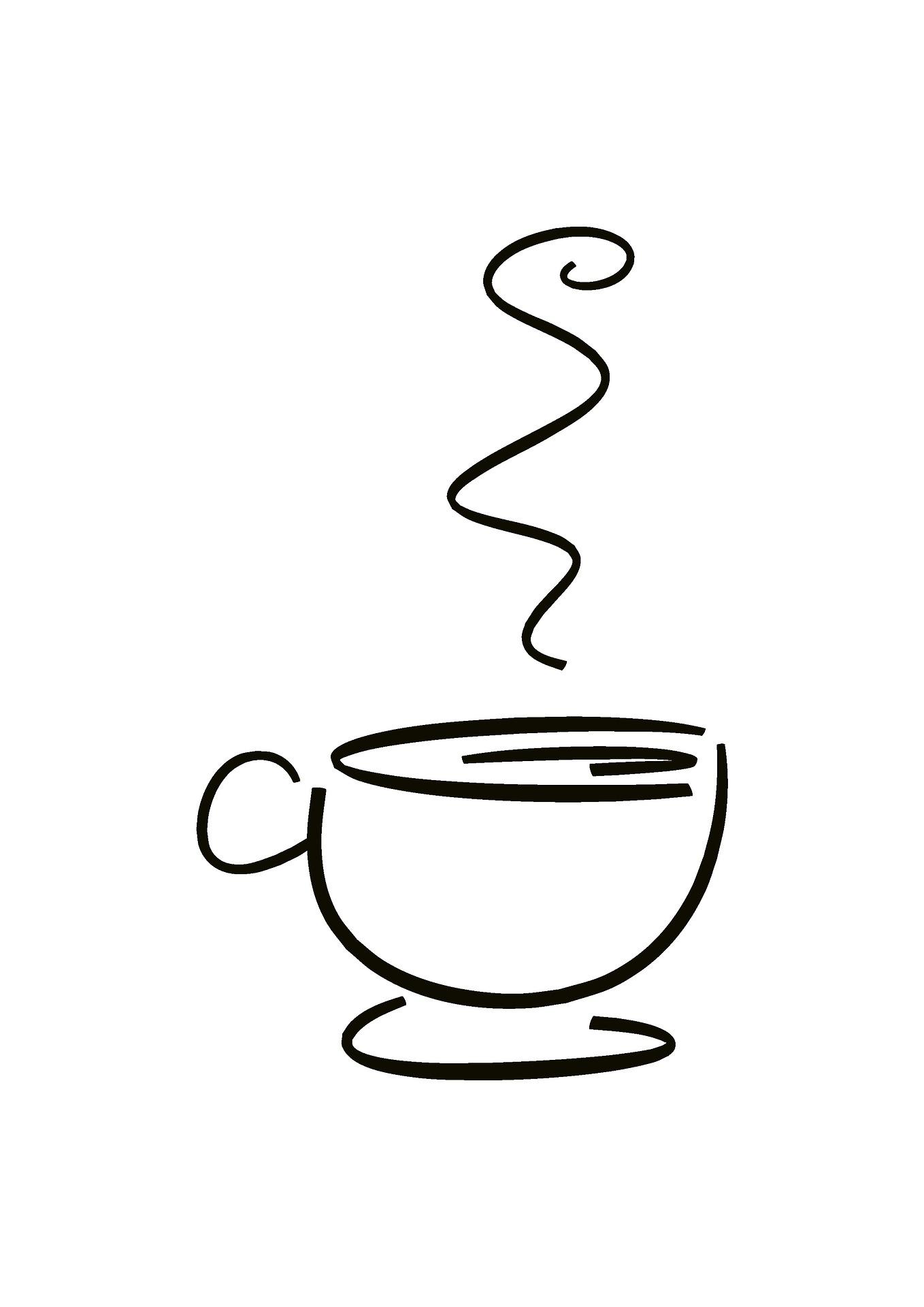 Pause café en télétravail