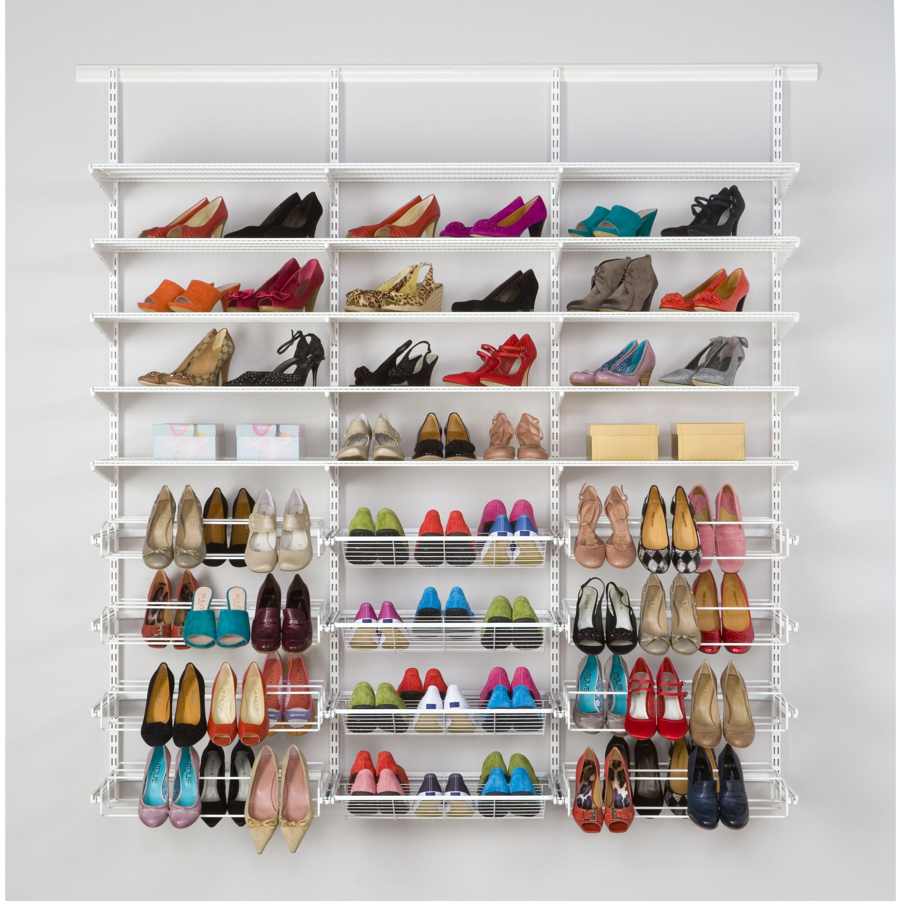 Rangement suspendu pour chaussures Elfa