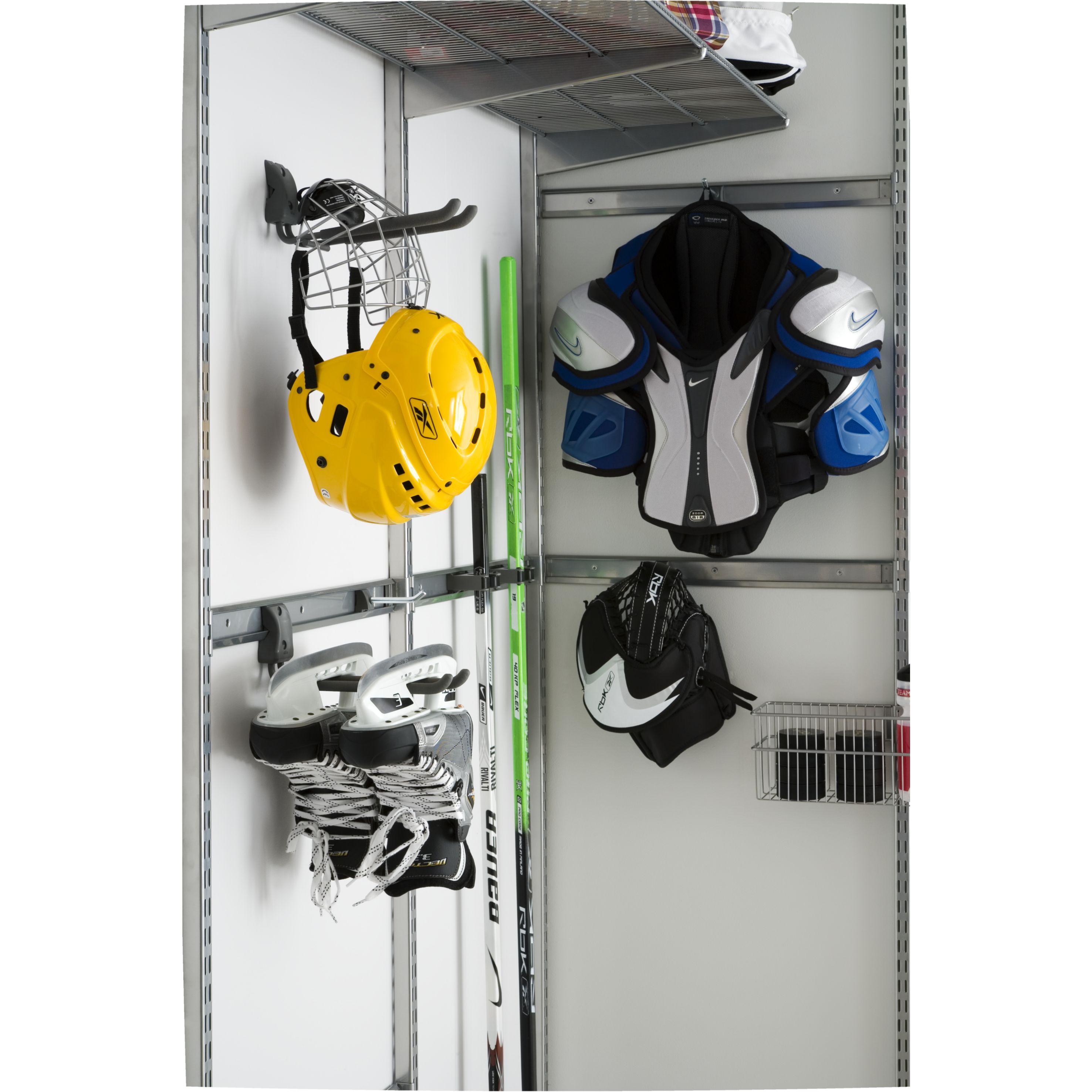 Casque sur crochet elfa pour sportifs