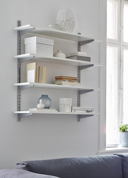 Bureau avec bibliothèque